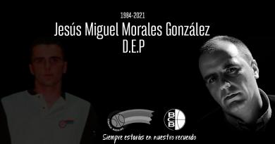 Carta de despedida a Jesús Miguel Morales González